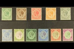 1922-23 Script Wmk Definitive Set, SG 126/37, Very Fine Mint (11 Stamps) For More Images, Please Visit Http://www.sandaf - British Honduras (...-1970)