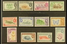 1953-62 Definitive Set, SG 179/90, Never Hinged Mint (12 Stamps) For More Images, Please Visit Http://www.sandafayre.com - British Honduras (...-1970)