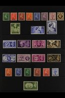 1948-55 COMPLETE KGVI MINT COLLECTION. A Complete Run From The 1948 Surcharged Set To The 1950 Surcharged Set, SG 16/41, - Bahrain (...-1965)