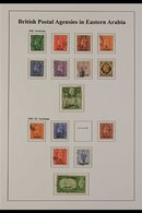 1948-55 USED KGVI COLLECTION. A Well Presented, All Different Collection, Light Hinged Onto A Printed Sleeved Page That  - Bahrain (...-1965)