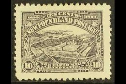 """1910 10c Purple-slate """"Paper Mills"""", Perf 12, SG 103, Very Fine Mint. For More Images, Please Visit Http://www.sandafayr - Newfoundland And Labrador"""