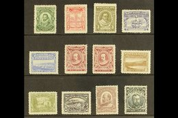 1910 Colonization (perf 12) Complete Set Including Both 6c Types, SG 95/105, Plus 100a, Fine Mint, Generally Well Centre - Newfoundland And Labrador