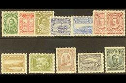 1910 Litho Colonisation Set Complete, Both 6c Claret, SG 95/105, Very Fine Mint. (12 Stamps) For More Images, Please Vis - Newfoundland And Labrador