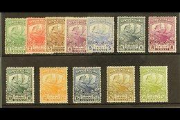 1919 Caribou Set Complete, SG 130/41, Very Fine Mint (12 Stamps) For More Images, Please Visit Http://www.sandafayre.com - Newfoundland And Labrador