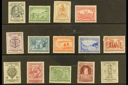 1933 Sir Humphrey Gilbert Complete Set, SG 236/249, Fine Mint. (14 Stamps) For More Images, Please Visit Http://www.sand - Newfoundland And Labrador