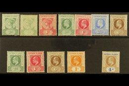 1900-1907 FINE MINT GROUP Incl. 1900 ½d Shades & 1d, 1902-3 ½d To 2½d & 6d, 1905 ½d, 1d, 6d & 1s, 1907 4d, Between SG 1/ - Caimán (Islas)