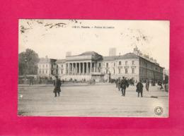 37, Indre-et-Loire, TOURS, Palais De Justice, Animée, 1924, (G. B.) - Tours