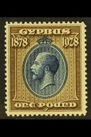 1928 £1 Blue And Bistre-brown 50th Anniv Of British Rule, SG 132, Fine Mint. For More Images, Please Visit Http://www.sa - Cyprus