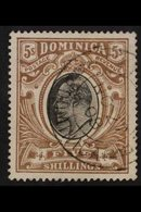 1903-07 KEVII 5s Black & Brown, SG 36, Well Centred, Very Fine Used With Fully Dated Cds Cancel. For More Images, Please - Dominica (...-1978)