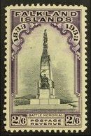 1933 2s6d Black & Violet, SG 135, Very Fine Mint For More Images, Please Visit Http://www.sandafayre.com/itemdetails.asp - Falkland Islands