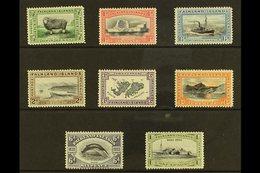 1933 Centenary Set Complete To 1s, SG 127/134, Fine Mint. (8 Stamps) For More Images, Please Visit Http://www.sandafayre - Falkland Islands