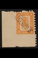"""1893 1mk Orange, Reprint, Corner Marginal Copy, Overprinted Boxed """"Specimen"""", Very Fine Mint Og. For More Images, Please - Finlandia"""