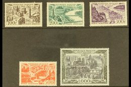 1949-50 Air Complete Set (SG 1055/59, Yvert 24/27 & 29), Superb Mint, Very Fresh. (5 Stamps) For More Images, Please Vis - France