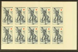 1955 Red Cross Booklet, Yv 2004, Very Fine Complete Booklet. Rare! For More Images, Please Visit Http://www.sandafayre.c - France