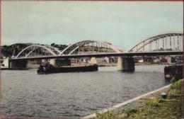 Engis Le Pont Barge Peniche Binnenschip Binnenscheepvaart (Pli) - Engis