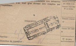 Jemeppe 23 Dec 1923 / Sur Avis - Railway