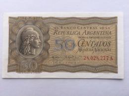 ARGENTINA P250A 50 CENTAVOS 1942.1948 AUNC - Argentinien