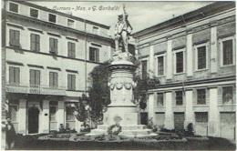 Carrara. Mon. A G. Garibaldi. - Carrara