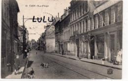 DEPT 14 : édit. P R N° 13 : Caen Rue D Auge - Caen