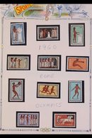 SPORT TOPICAL COLLECTION 1954-1998 Very Fine Collection On Album Pages. Never Hinged Mint Sets And Miniature Sheets, Plu - Sin Clasificación