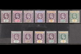 1902-06 KING EDWARD VII All Different Fine Mint Group With 1902 (wmk Crown CA) Set Complete To 1s, Plus 1904-06 (wmk Mul - Grenada (...-1974)