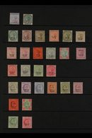 JIND 1886-1909 Attractive Mint Collection. With 1886 (red Overprint) 2a And 4a; 1886-99 Range To Both 1R, Plus Official  - India