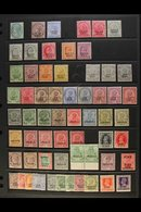 JIND STATE 1885-1943 MINT COLLECTION With A Few Shades & Useful Officials On A Stock Page. Includes A Small QV Range, KE - India