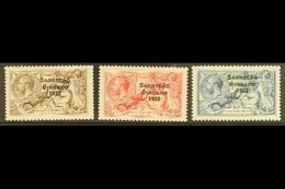 1925 Seahorses Set With Narrow Date, SG83/85, Fine Mint. (3 Stamps) For More Images, Please Visit Http://www.sandafayre - Ireland