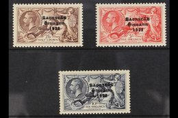 1935 Re-engraved Seahorses Overprints Complete Set, SG 99/101, Fine Mint, Lovely Fresh Colours. (4 Stamps) For More Imag - Ireland