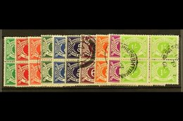 1940-70 POSTAGE DUE Set, SG D5/14, In Fine Cds Used Blocks Of Four. (10) For More Images, Please Visit Http://www.sandaf - Ireland