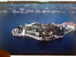 DIA/SLIDE ELICOTTERO AGUSTA 206 I.AGUP Sull'ISOLA BELLA - Diapositives (slides)