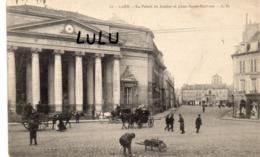 DEPT 14 : édit. L D N° 21 : Caen Le Palais De Justice Et Place Saint Sauveur - Caen