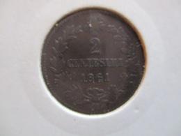 Italia: 2 Centesimi 1861 M - 1861-1878 : Victor Emmanuel II.