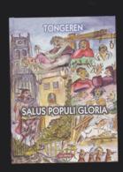 TONGEREN-BOEK-SALUS POPULI GLORIA-LUC BRONE-2003-COLLECTIE ZICHTKAARTEN VAN DE AUTEUR IN EEN LIJVIG BOEK VAN +-600 BLADZ - Tongeren
