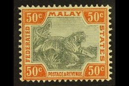 FEDERATED STATES 1904 - 22 4c Grey And Orange, Wmk MCA, SG 47, Very Fine Mint. For More Images, Please Visit Http://www. - Great Britain (former Colonies & Protectorates)