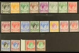 PENANG 1949-55 Complete KGVI Set, SG 3/22, Superb Never Hinged Mint. (20 Stamps) For More Images, Please Visit Http://ww - Great Britain (former Colonies & Protectorates)