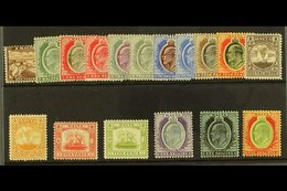 1904-14 (wmk Mult Crown CA) Complete Set, SG 45/63, Very Fine Mint. (17 Stamps) For More Images, Please Visit Http://www - Malta (...-1964)