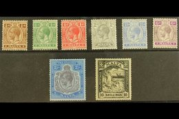 1921-22 Complete Set, SG 97/104, Mint. (8 Stamps) For More Images, Please Visit Http://www.sandafayre.com/itemdetails.as - Malta (...-1964)