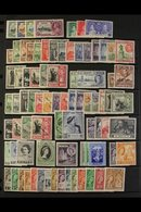 1935-67 FINE MINT COLLECTION 1935 Jubilee Set, 1938-43 Set, 1948-53 Set, 1948 Wedding, 1956-58 Set, Various Later Sets W - Malta (...-1964)