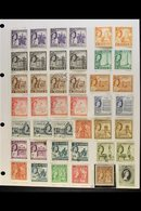 1953-2012 COLLECTION On Leaves, Mint & Used, Earlier Issues With Light Duplication But All Different From Mid-1970's Onw - Malta (...-1964)