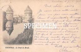 Le Pont De Broel  - Courtrai - Kortrijk - Kortrijk