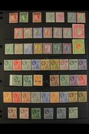 1876-1949 ALL DIFFERENT MINT COLLECTION. An Attractive Collection With Many Better/top Values, Sets & Perforation Varian - Montserrat
