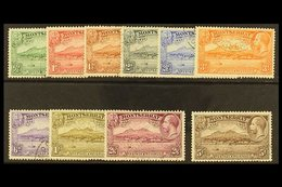 1932 300th Anniv. Of Settlement Set Complete, SG 84/93, Each Cancelled By MADAME JOSEPH Forged Plymouth Cds Of 13th May  - Montserrat