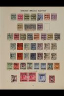 """1898 - 1936 TREMENDOUS COLLECTION ON """"IMPERIAL"""" ALBUM PAGES. Very Comprehensive Collection Of Mint & Used Stamps Begins  - Morocco (1891-1956)"""