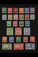 1937-1953 VERY FINE MINT All Different Collection. With TANGIER Including 1937 Definitive Set, 1949 Definitive Set, And  - Morocco (1891-1956)