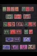 TANGIER 1927-57. ALL DIFFERENT USED COLLECTION Presented On Stock Pages. Includes A Complete Run Of KGV & KEVIII (SG 231 - Morocco (1891-1956)