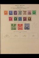 TANGIER 1927-1957 FINE USED All Different Collection On Printed Pages. Includes 1935 Jubilee Set, KGVI Definitives Compl - Morocco (1891-1956)