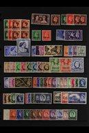 TANGIER 1936-1956 FINE MINT Collection. Includes 1944 ½d & 1d, 1948 Wedding, 1949 Definitive Set, 1955 Castles Set NHM,  - Morocco (1891-1956)