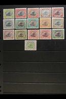 1916-31 LAKATOI Complete Set, SG 93-105, Plus Additional Shades Of 1d, 3d And 2s6d, The 6d Is Crown To Left, Fine Mint.  - Papúa Nueva Guinea