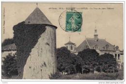 Carte Postale  55.  Montiers-sur-Saulx   La Tour Du Vieux Chateau Trés Beau Plan - Montiers Sur Saulx